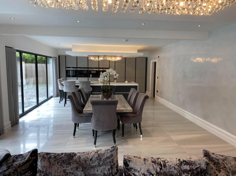 Venetian Plaster Cheshire - Luxury interior design by Venetian Plastering North West