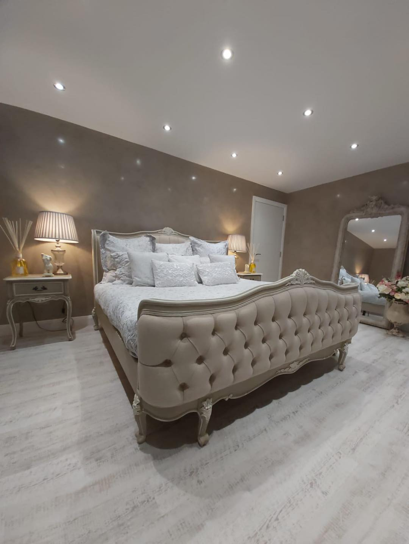 Venetian Plaster Interior Design Manchester Cheshire - Venetian Plastering North West. - Luxury bedroom